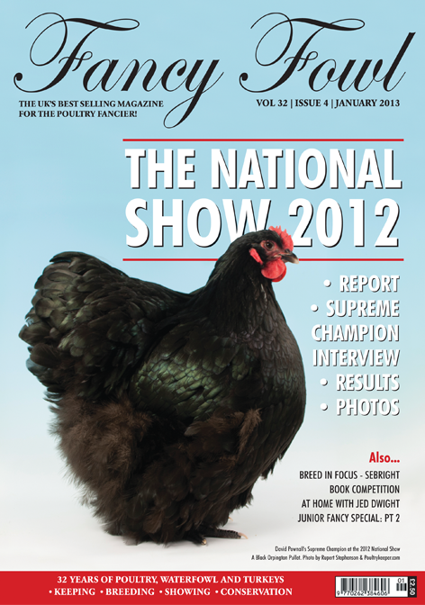 fancy fowl uk poultry magazine january