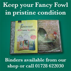Keep your copies of Fancy Fowl in pristine condition