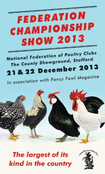 Federation Championship Poultry Show 2013