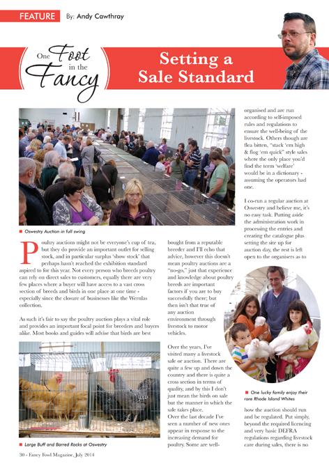 Setting-a-Sale-Standard