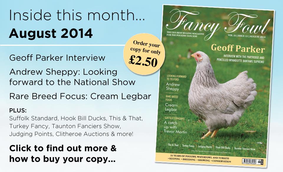 33-11-Aug-2014-Geoff-Parker-Wyandotte-Pencilled-Partridge-Suffolk-National-Poultry-Show-Hook-Bill-Ducks-Taunton-Show