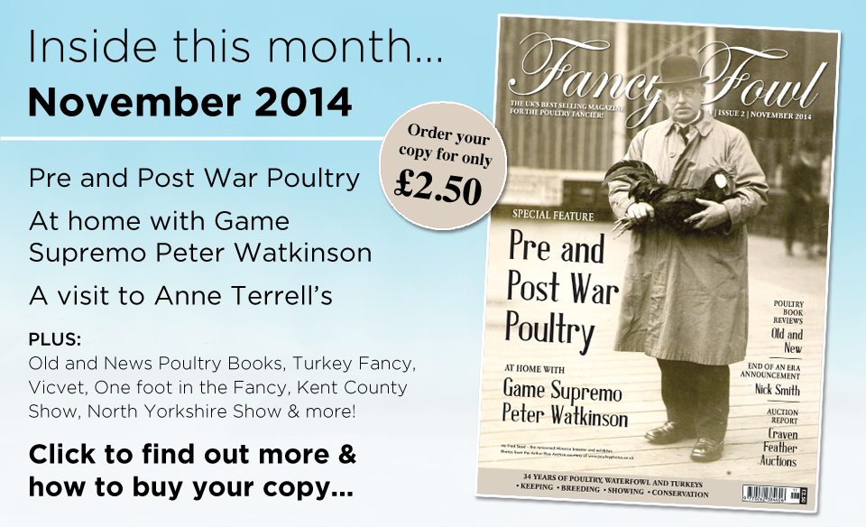34-2-Nov-2014-Peter-Watkinson-Poultry-Anne-Terrell-Waterfowl-Poultry-Books-Once-Foot-in-the-Fancy-Kent-County-Show-Isle-of-Wight-North-Yorkshire