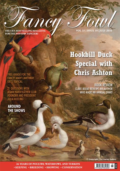 Fancy Fowl Poultry Magazine July